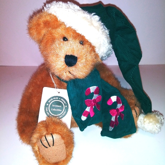 VTG BOYDS BEARS B.J. BEARICANE CHRISTMAS BEAR